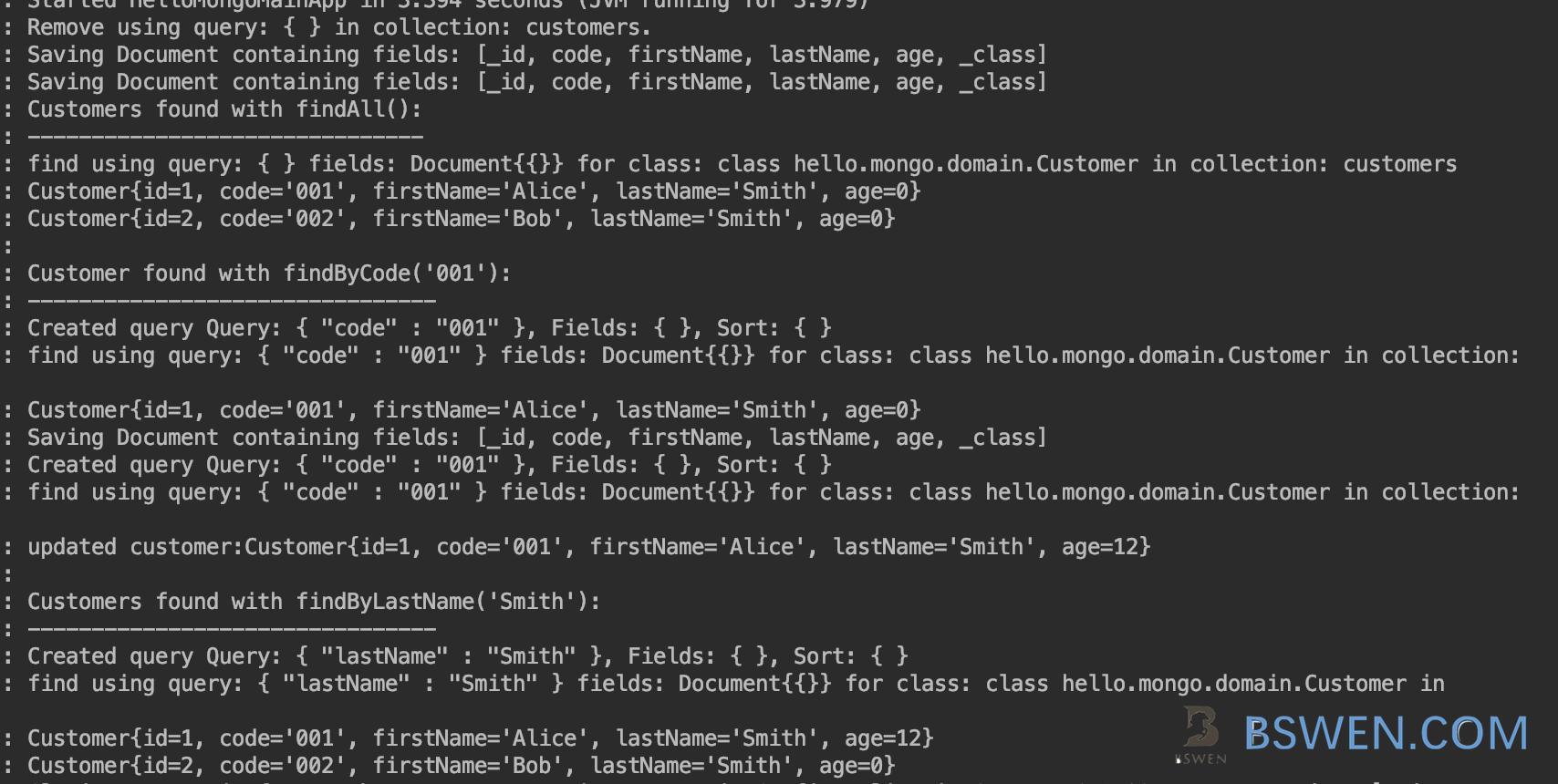 springboot-SpringBoot 2 and mongodb CRUD example